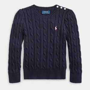 Ralph Lauren LS Cable Knit Pullover Sweater NWT